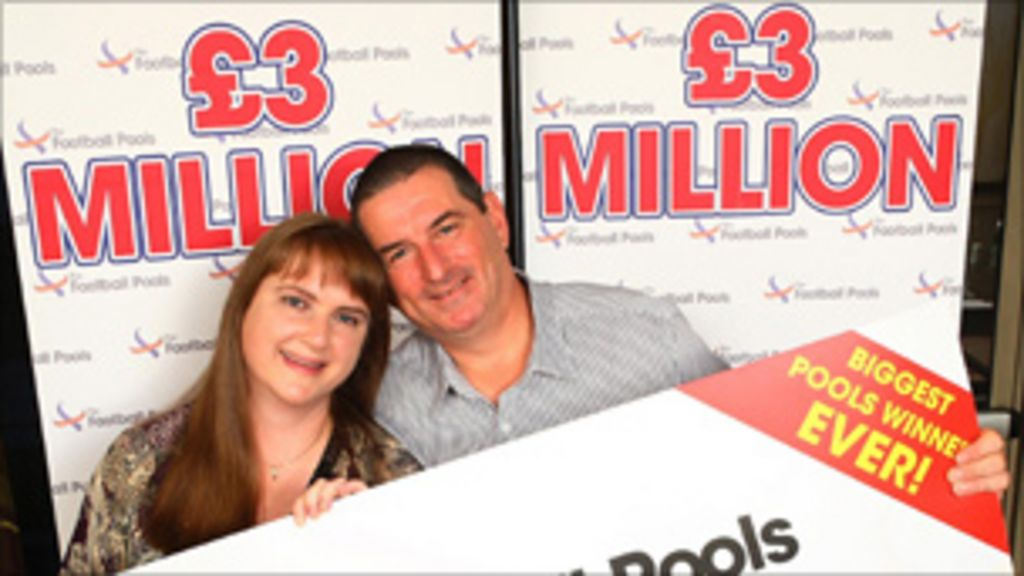 Man scoops record £3m Football Pools jackpot - BBC News