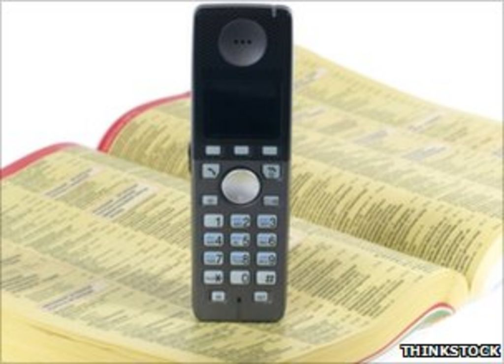 Why are phone books getting thinner? - BBC News