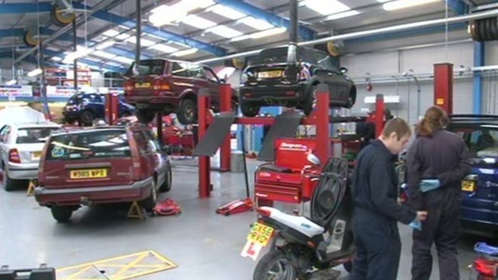 Brighton College Opens Car Repair Workshop Bbc News