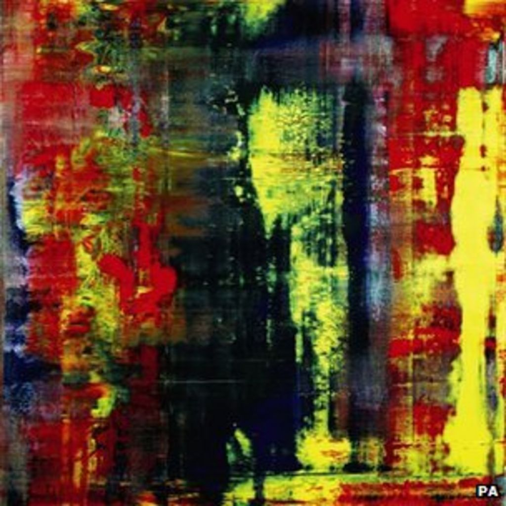 Abstrakte Bilder Gerhard Richter Gerhard Richter Painting Sells For Record 21m Bbc News