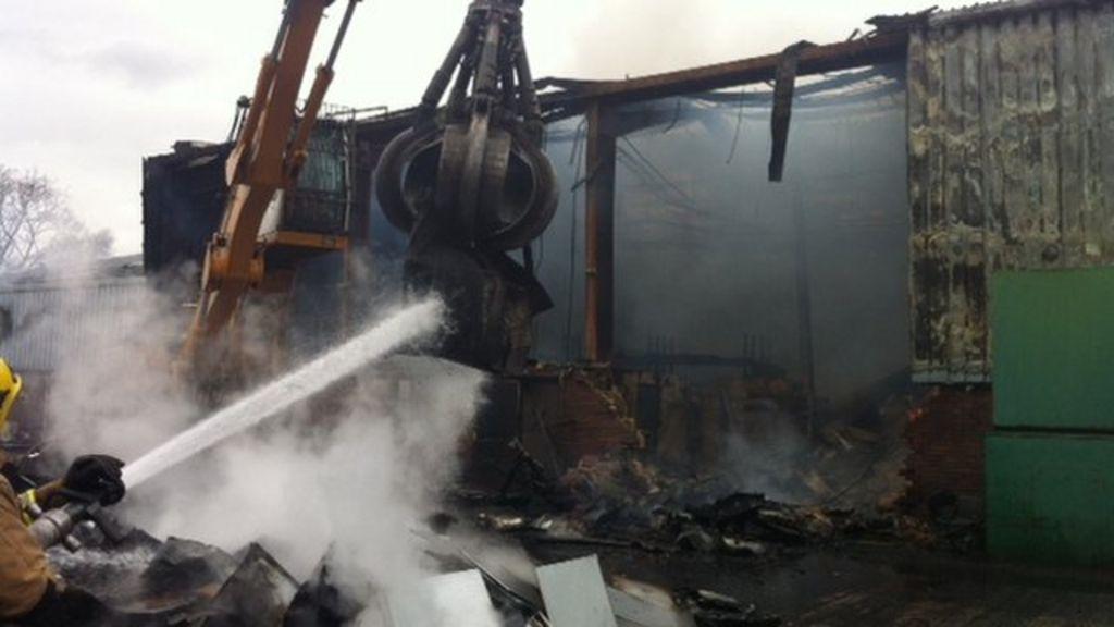Bathgate Flooring Factory Blaze Started 39accidentally