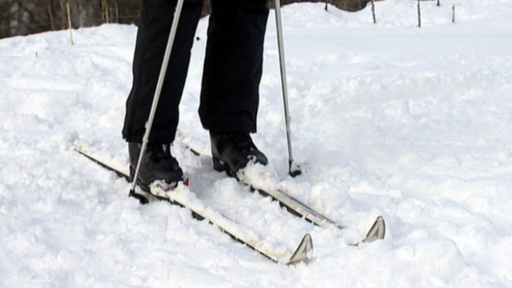 Cross Country Skiing Taking Off In Scotland Bbc News