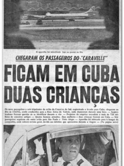 Reportagem sobre sequestro do Caravelle
