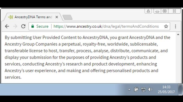 Ancestry denies exploiting users\u0027 DNA - BBC News - support ancestry com
