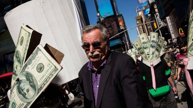 Protesta contra Wall Street