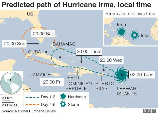 Hurricane Irma Residents prepare for \u0027potentially catastrophic