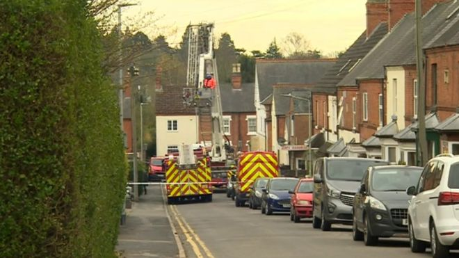 Kirby Muxloe house fire caused by fuse box fault - BBC News