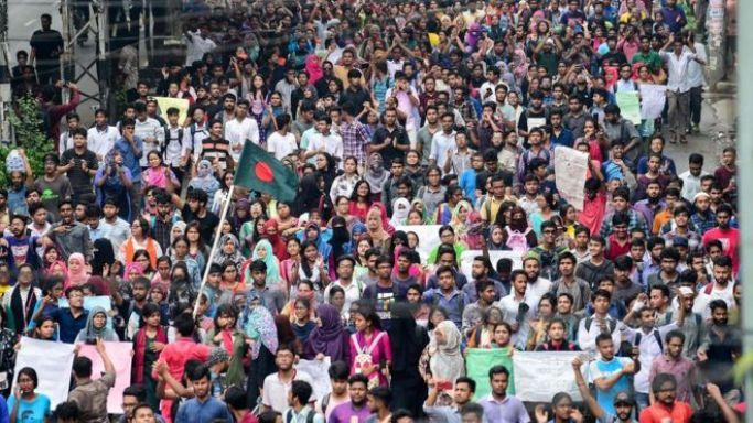 Mass protest