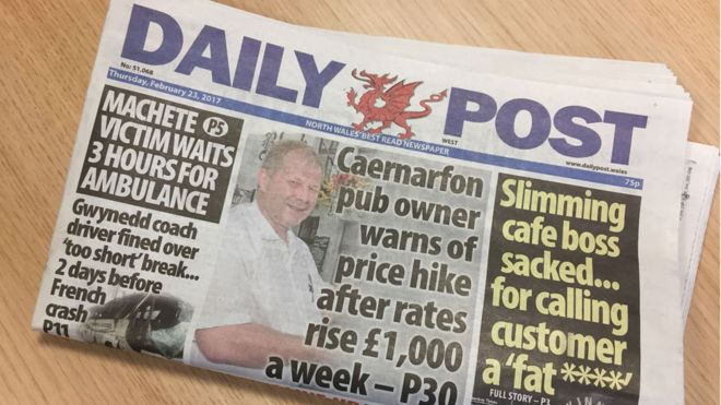 Daily Post now Wales\u0027 best-selling regional newspaper - BBC News