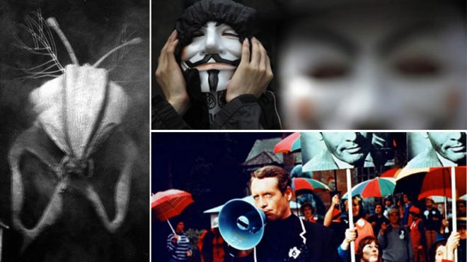 Nightmare visions 1984 to V for Vendetta - BBC News