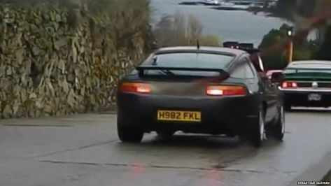 Top Gear number plate