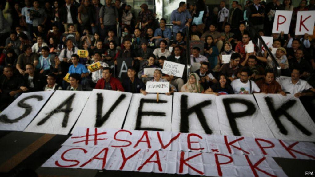 Karangan Pemberantasan Korupsi Di Indonesia Google Mengapa Ribuan Orang Ingin Menghentikan Revisi Uu Kpk Bbc Indonesia