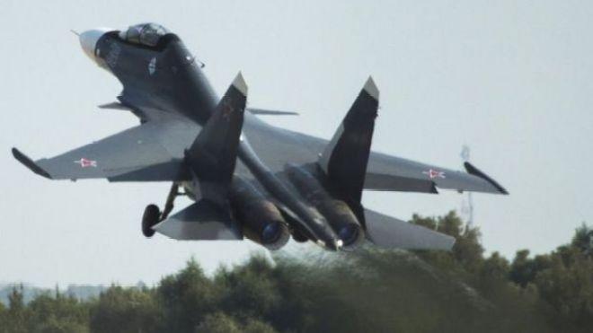 Avión ruso Sukhoi Su-30