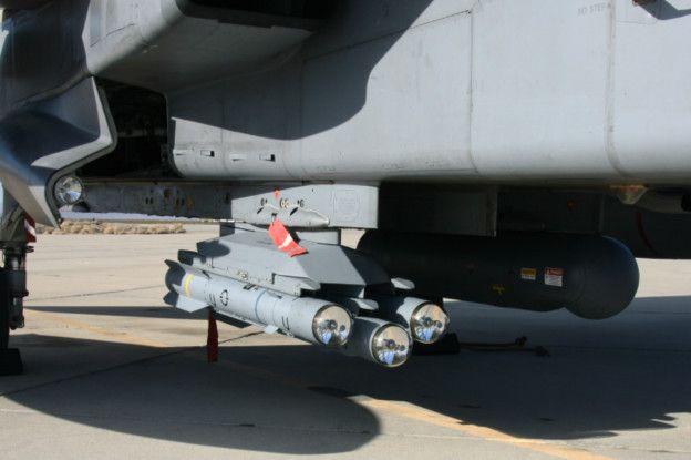 misiles Brimstone en un Tornado GR4
