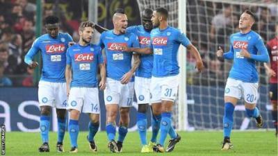 Genoa 2-3 Napoli - BBC Sport