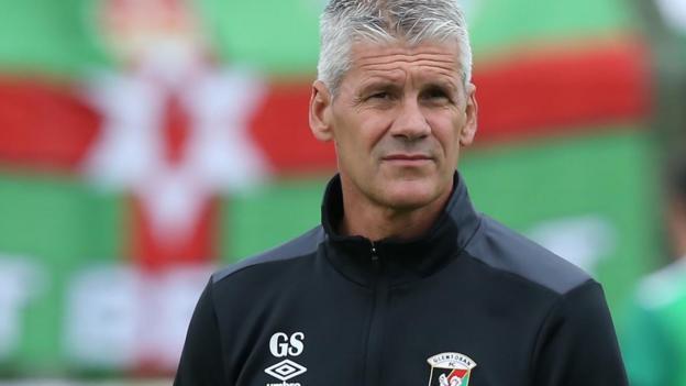 Irish Premiership Glens Coach Smyth Warns Of Glenavon