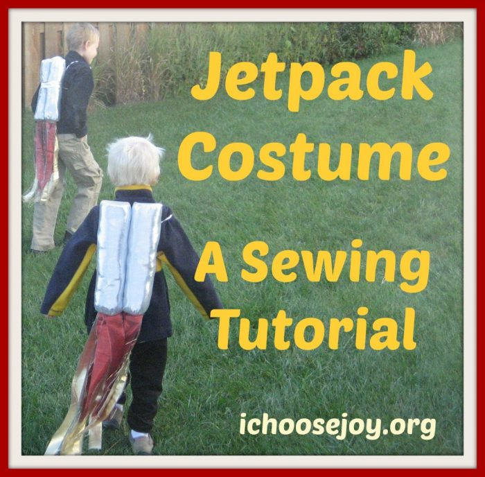 Jetpack Costume Tutorial