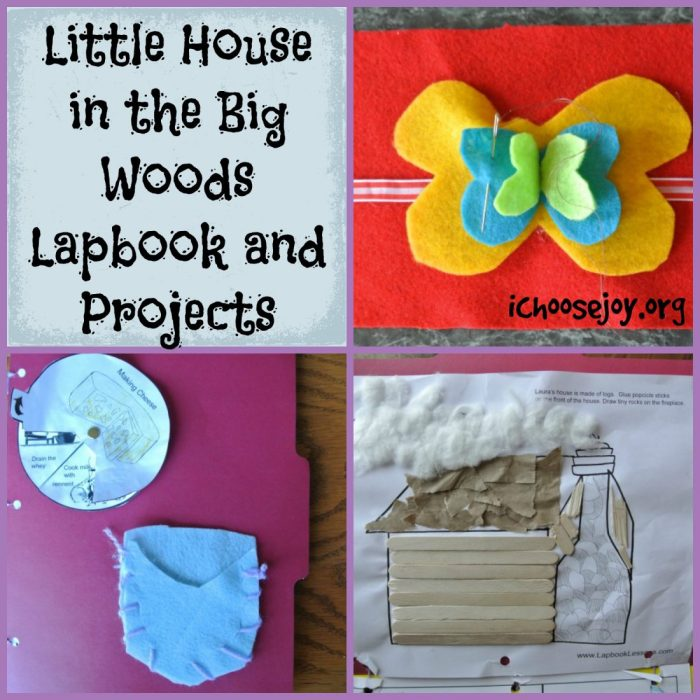 Little House in the Big Woods Lapbook and Projects