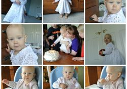 Collage Friday–1st Birthday!