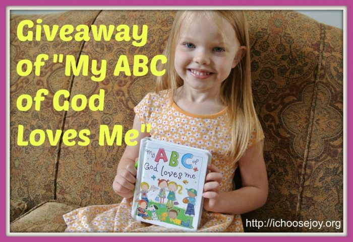 ABC book giveaway