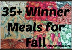 35+ Winner Meals for Fall