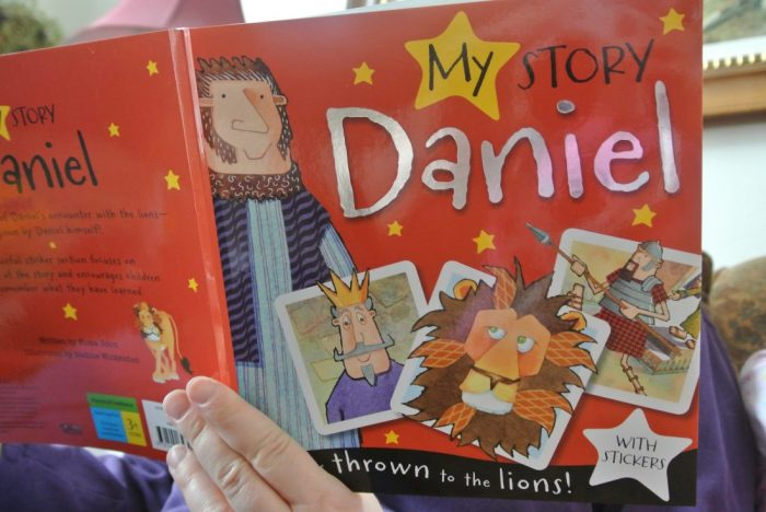 Book reviews- Daniel, Noah, Berenstain Bears Keep Faith, Veggie 001