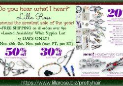 Lilla Rose Black Friday – Sunday Sale