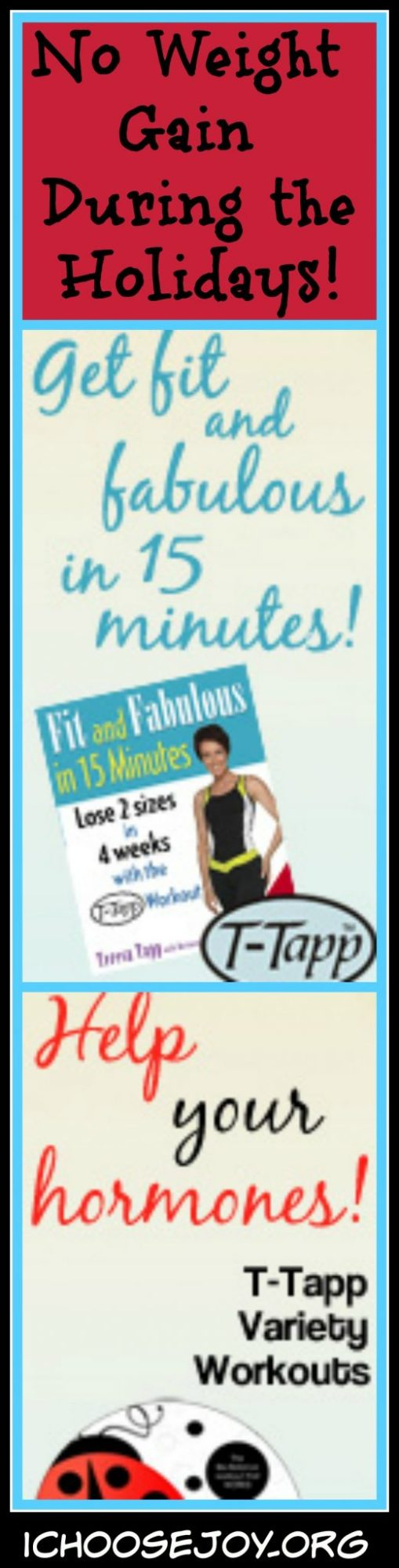 Use T-Tapp to Ward off the Weight Gain During the Holidays!