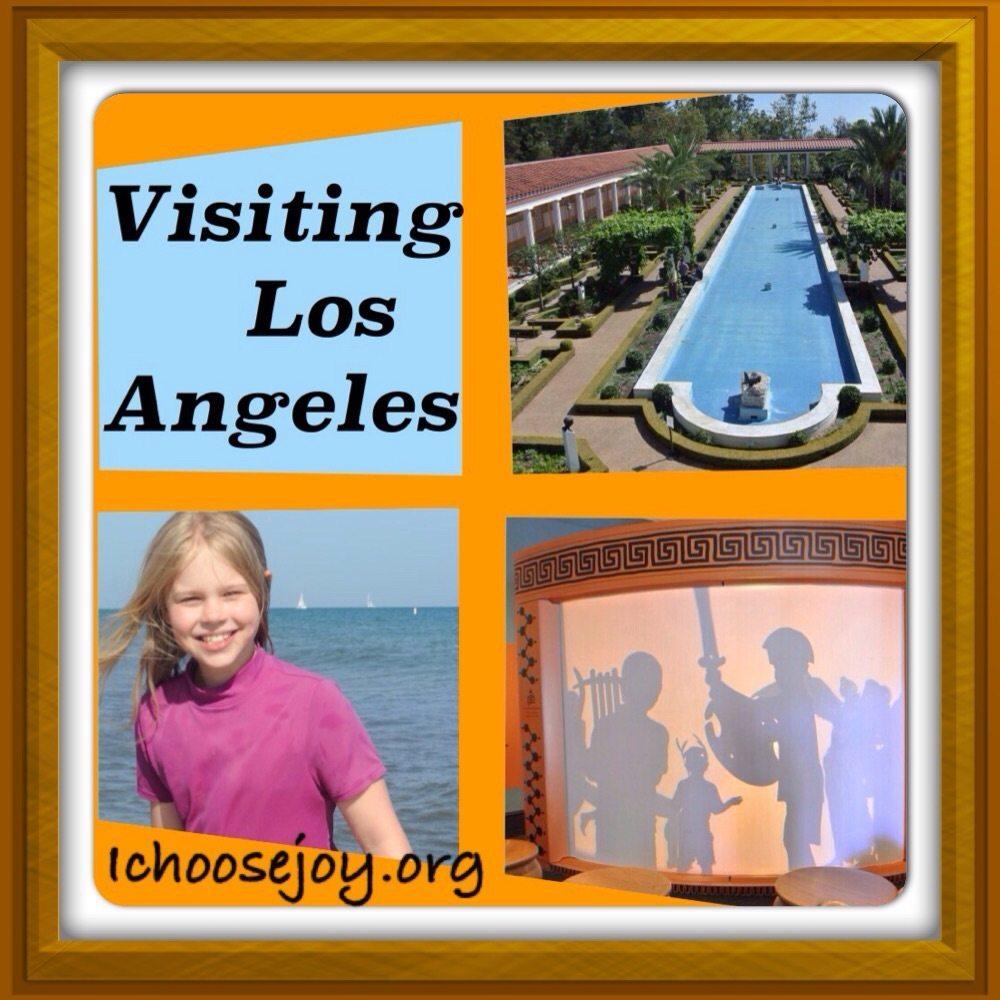 Vacation Scrapbook: Visiting Los Angeles
