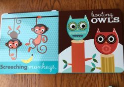 Review/ Giveaway: Noah's Noisy Zoo: A Fit-Together Shapes Book