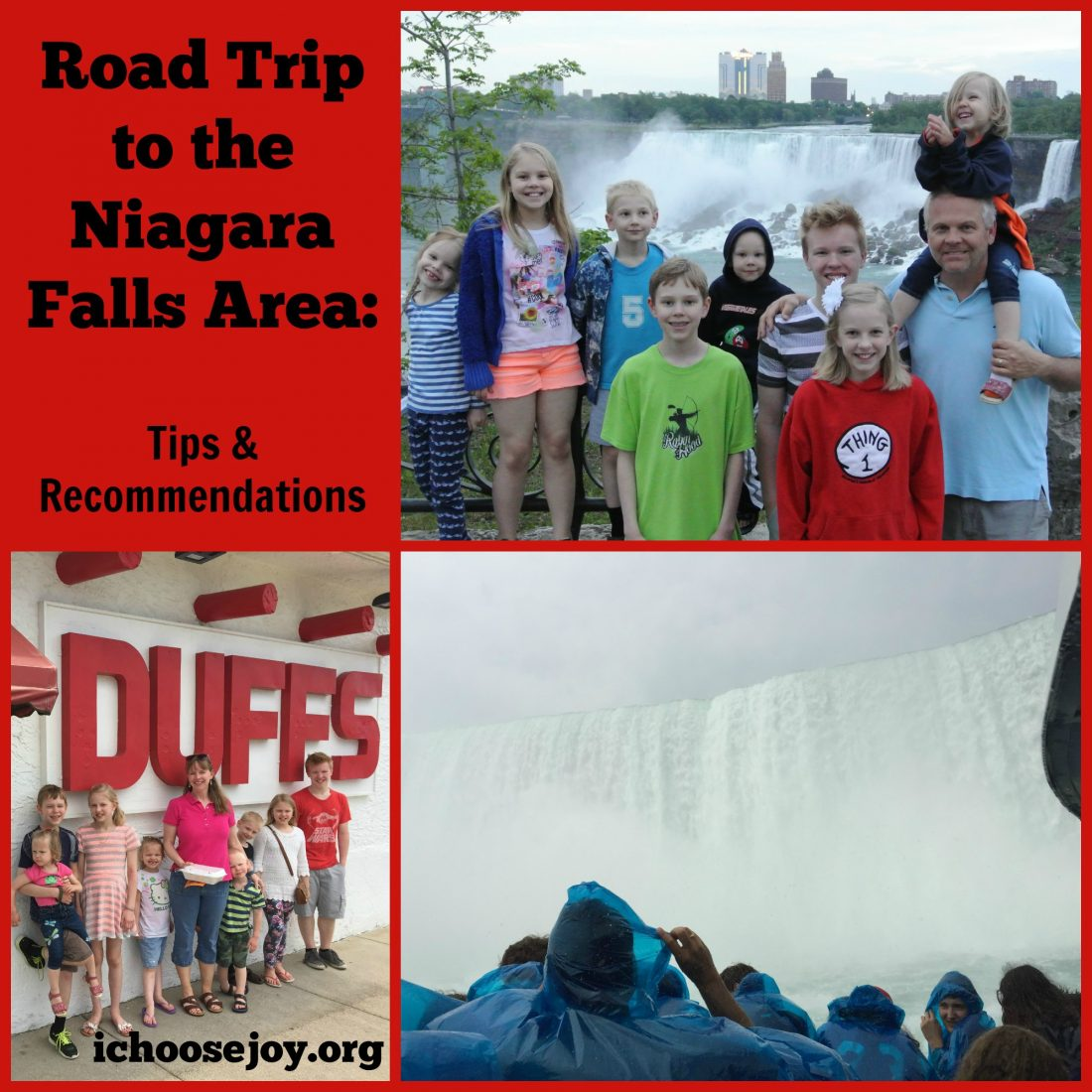 Road Trip to Niagara Falls area: Tips and Recommendations