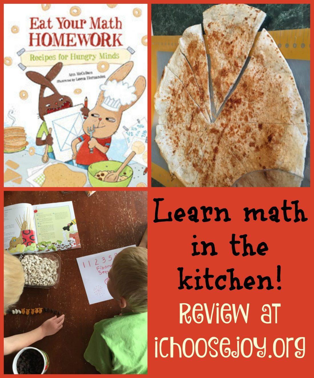 Review: Eat Your Math Homework