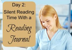 "Silent Reading Time with a Reading Journal: Day 2 of ""6 Days of New Year's Resolutions"""
