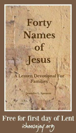 Free Lenten Devotional