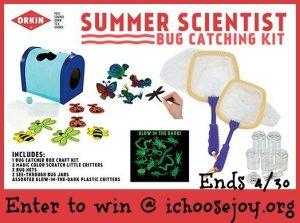 Giveaway: Orkin Summer Scientist Bug Catching Kit!