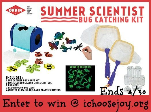 Giveaway: Orkin Summer Scientist Bug Catching Kit!