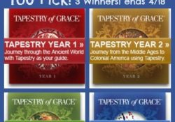 Tapestry of Grace Giveaway!