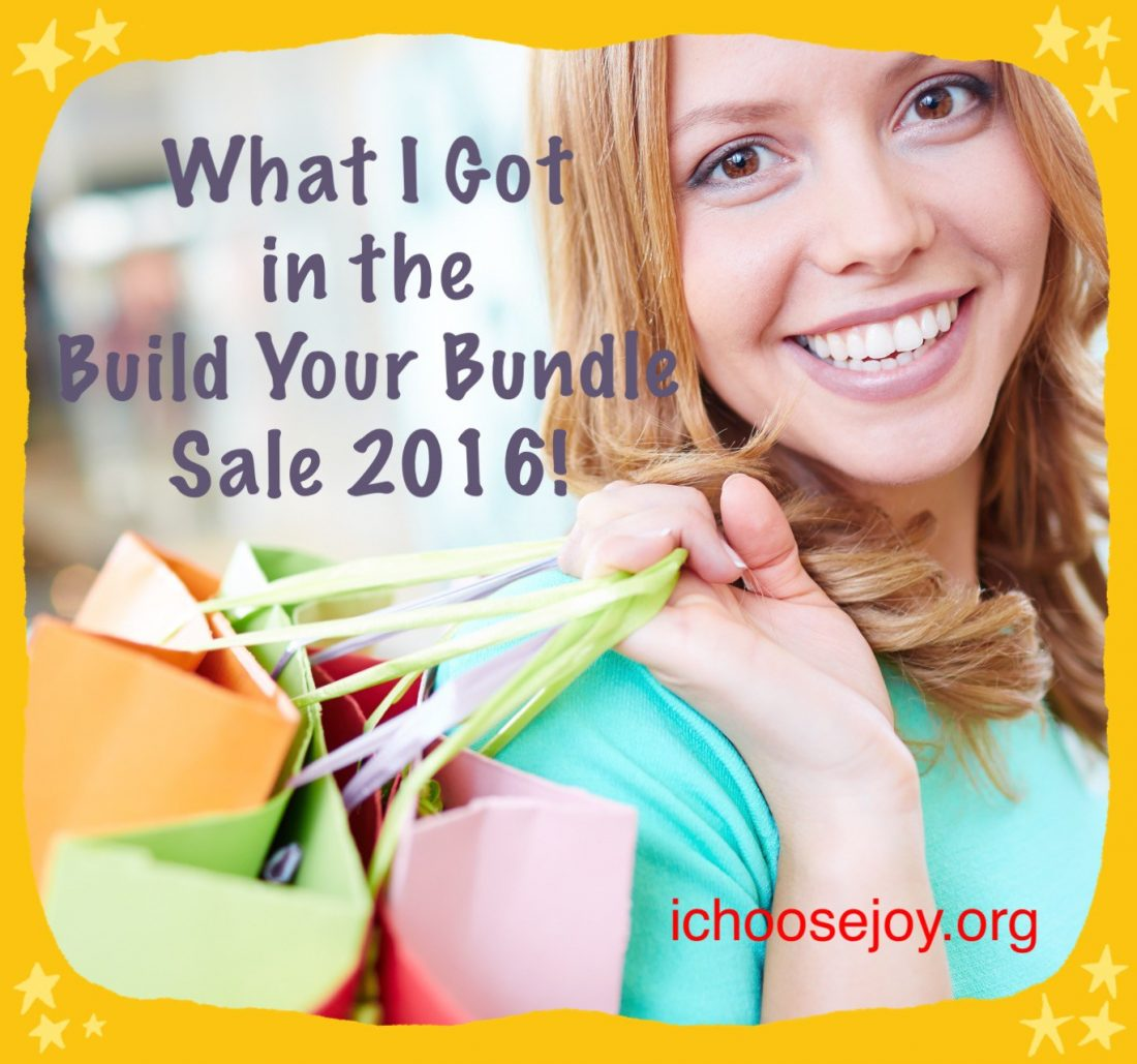 My Picks for the 2016 Build Your Bundle Sale