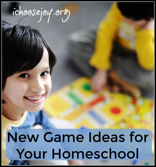 New Game Ideas for Your Homeschool