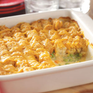Tasty-Easy Chicken Dinner-in-a-Hurry Casserole (1/2)
