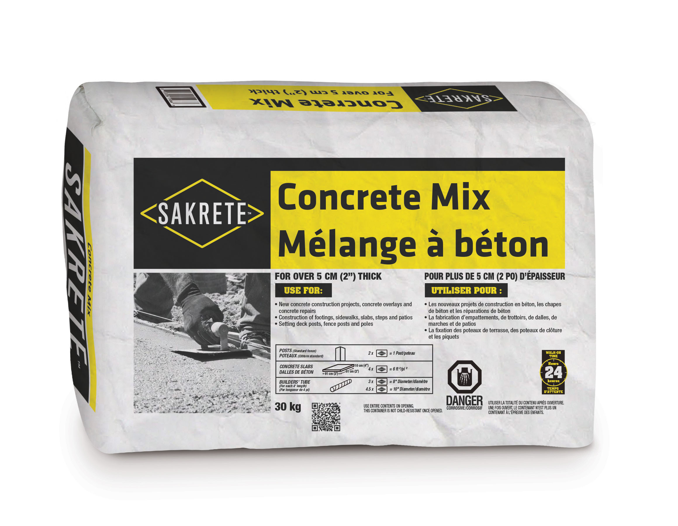 Sakrete Concrete Mix 30 Kg Bien Fait Ici Well Made Here