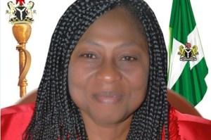 Former Edo State Assembly Speaker, Elizabeth Ativie