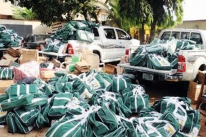 INEC-non-sensitive-materials-distribution