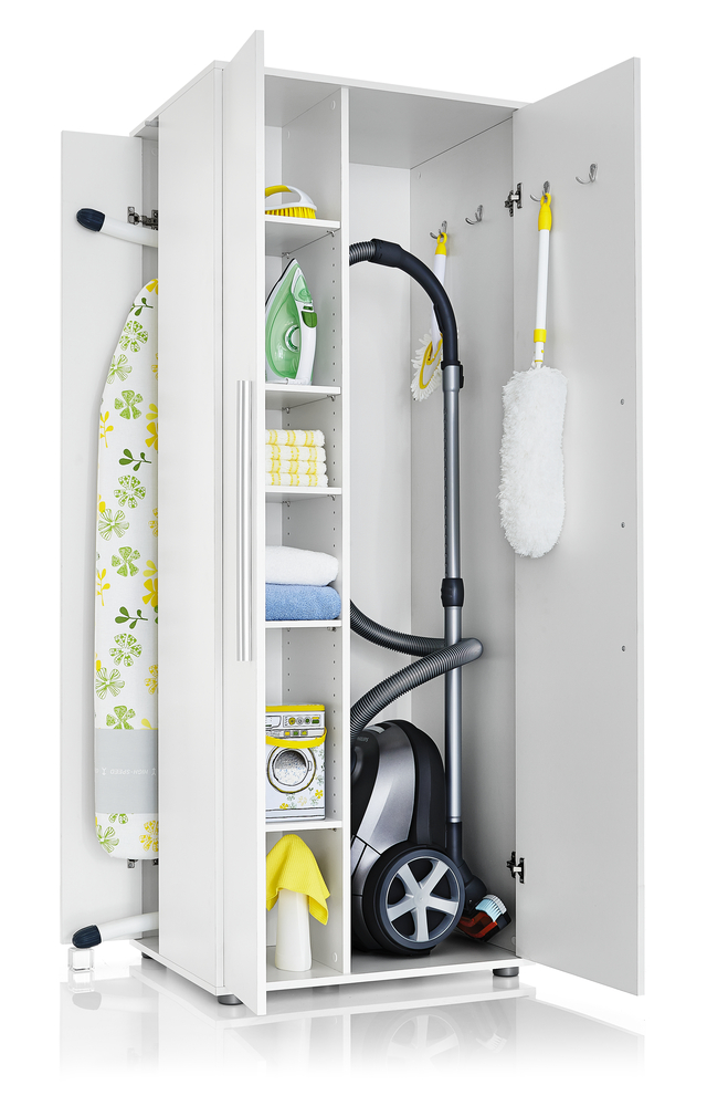 Besenschrank Ikea Cabinet For Vacuum Cleaner And Ironing Table - Maallure