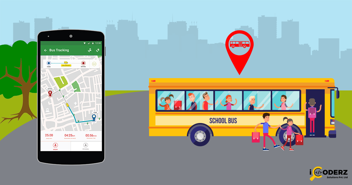 Safety Of Your Child\u0027s School Journey By Bus Ticket Booking App