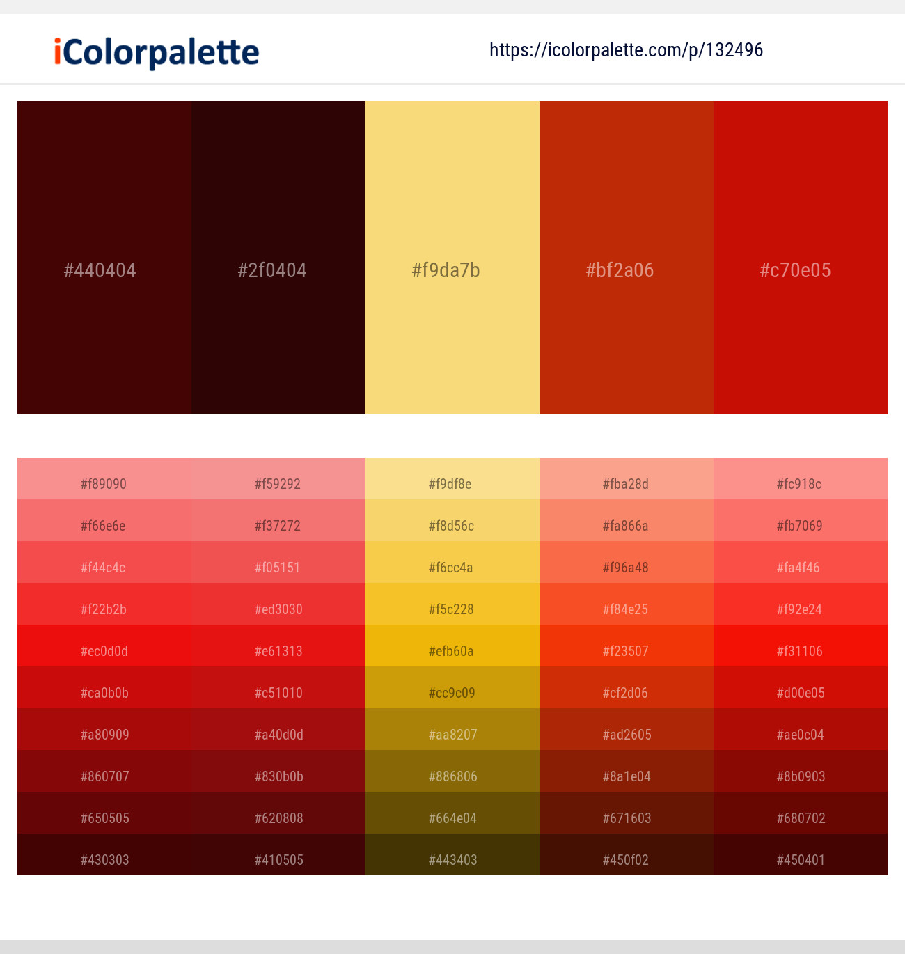 4 Color Palettes With Rustic Red And Milano Red Color In 2021 Icolorpalette