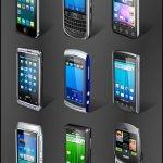 icônes smartphones