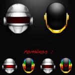 Icônes casque Daft Punk
