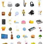 Stock icônes