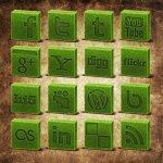 Cube herbe social